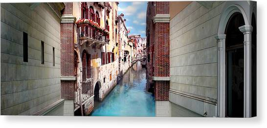 Featured Image Canvas Print - Dreaming Of Venice Panorama by Az Jackson