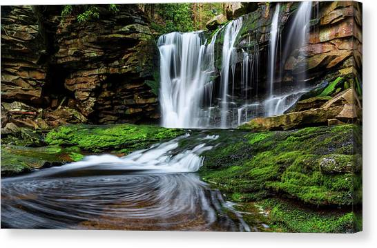 West Virginia Canvas Print - Dreamy by Chad Dutson