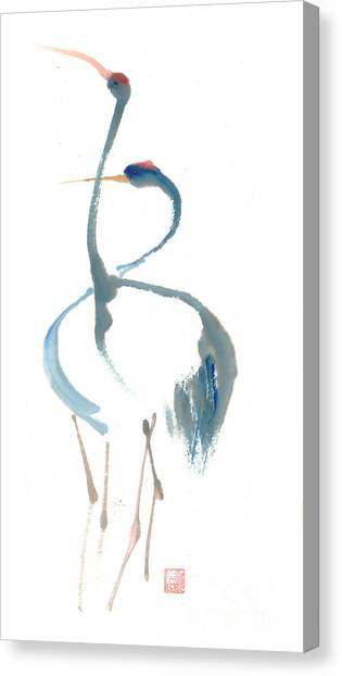 Duet Canvas Print by Mui-Joo Wee
