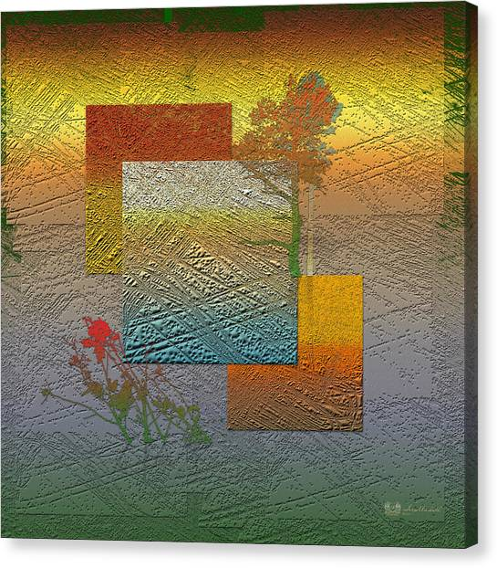 Pop Art Canvas Print - Early Morning In Boreal Forest by Serge Averbukh