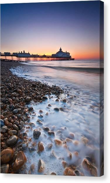 Eastbourne Sunrise Canvas Print