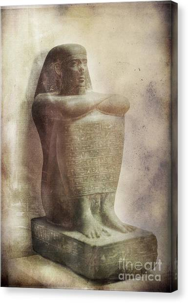 Egyptian Pharaoh. Canvas Print