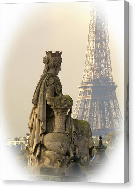 Canvas Print - Eiffel Tower by Contemporary Art
