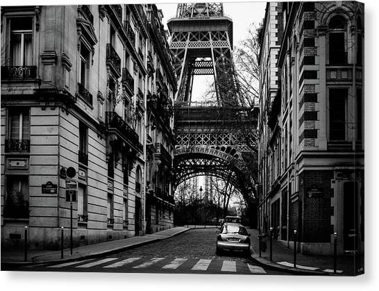Only In Paris Canvas Print