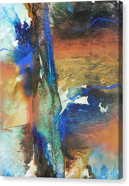 Electric And Warm Canvas Print