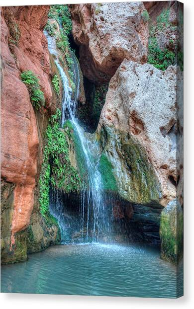 Elves Chasm Canvas Print