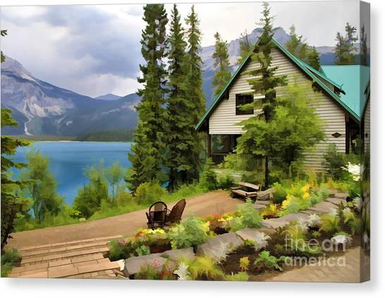 Emerald Lake Yoho National Park Canvas Print