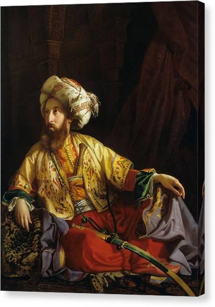 Emir Canvas Print - Emir Of Lebanon by Mountain Dreams