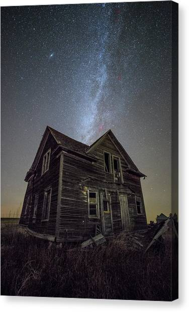 Andromeda Canvas Print - Epiphany  by Aaron J Groen