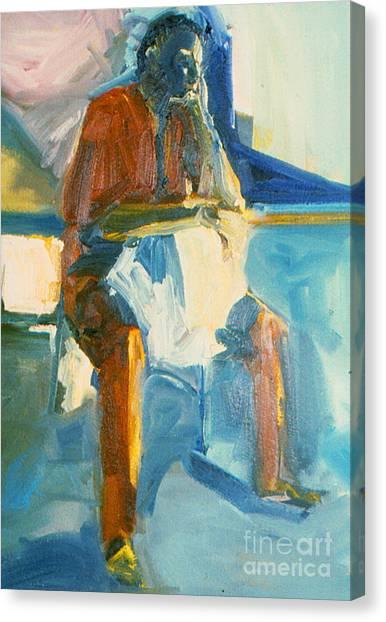 Ernie Canvas Print