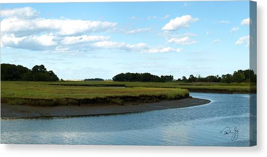 Essex River Canvas Print