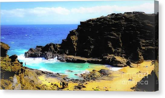 Eternity Beach - Oahu, Hawaii Canvas Print
