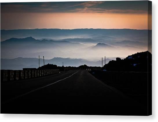 Etna Road Canvas Print