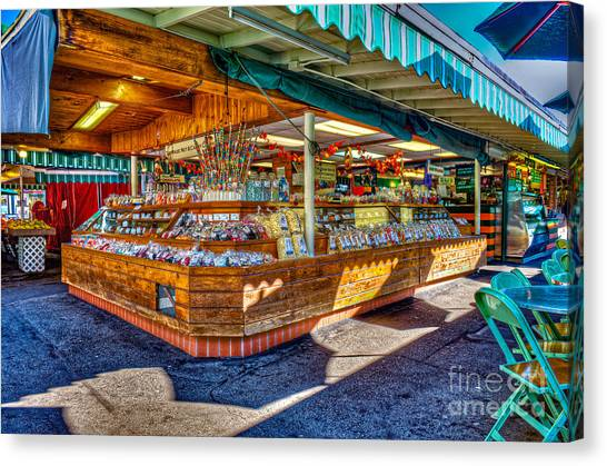 Fairfax Farmers Market Canvas Print