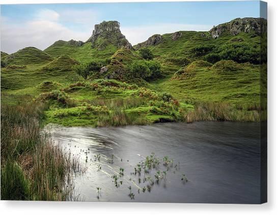Fairy Glen Canvas Print - Fairy Glen - Isle Of Skye by Joana Kruse