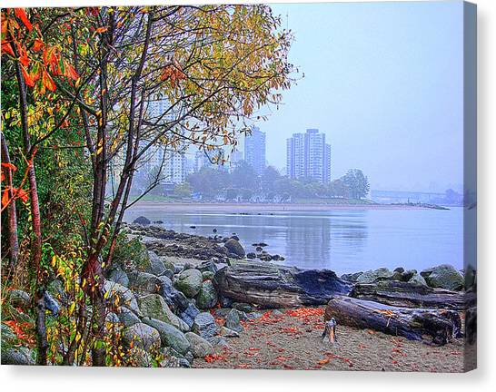 Fall At Stanley Park Canvas Print