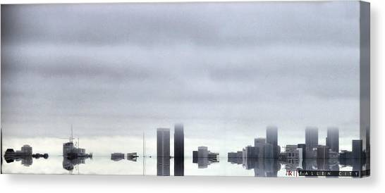 Fallen City Canvas Print by Jonathan Ellis Keys