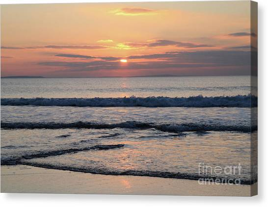 Fanore Sunset 2 Canvas Print