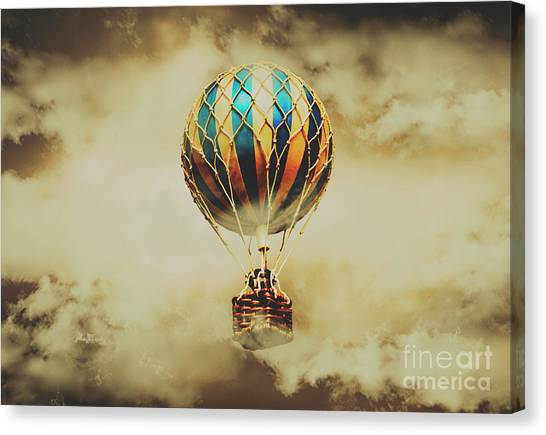 Hot Air Balloons Canvas Print - Fantasy Flights by Jorgo Photography - Wall Art Gallery
