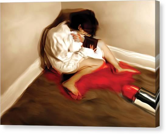 Fashion Victim Canvas Print by Naikos N