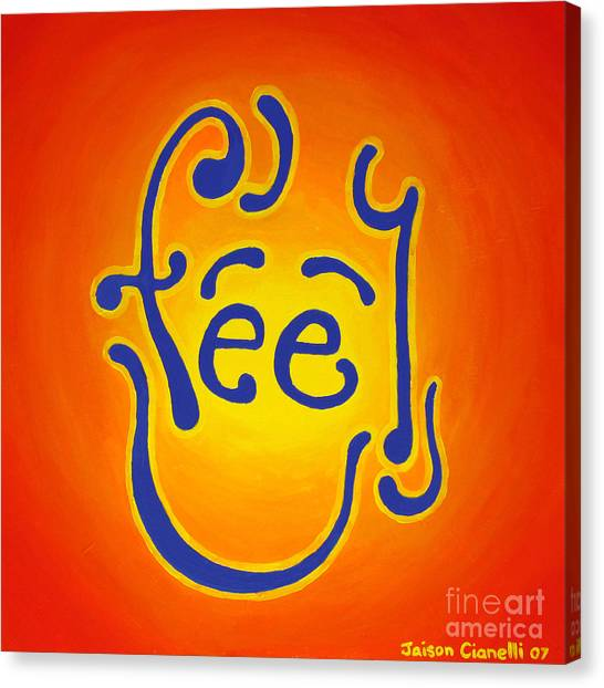 Feel Joy Canvas Print