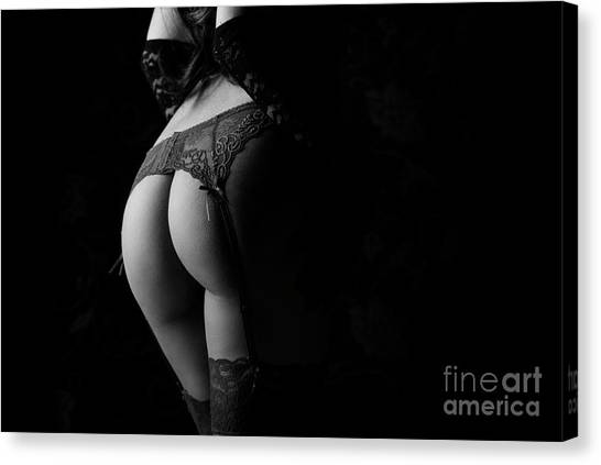 Female Back Canvas Print