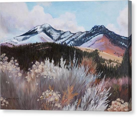 Fields Peak Canvas Print