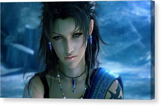 Final Fantasy Canvas Print - Final Fantasy Xiii by Maye Loeser