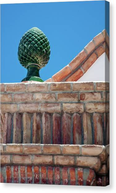 Finial Canvas Print