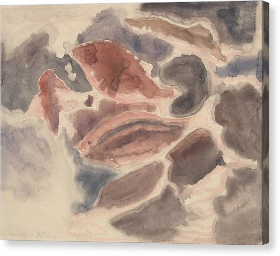 Precisionism Canvas Print - Fish Series, No. 2 by Charles Demuth