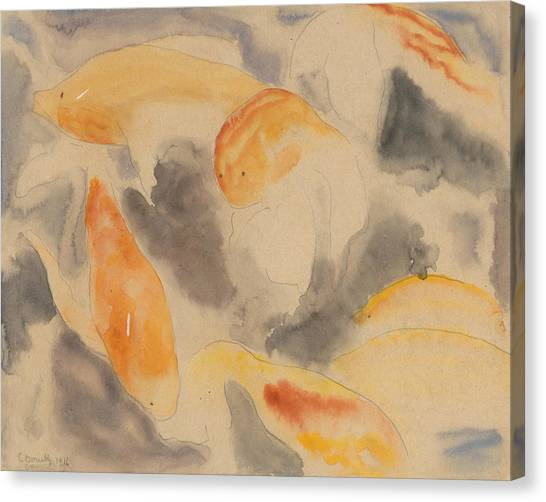 Precisionism Canvas Print - Fish Series, No. 4 by Charles Demuth