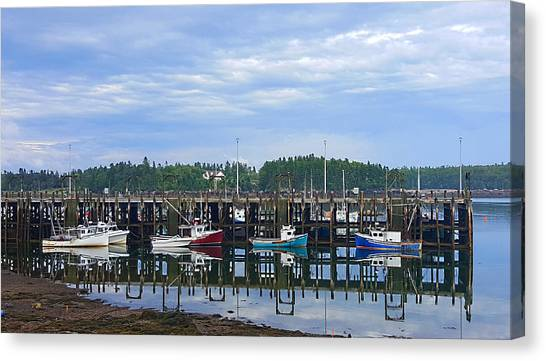 Fishing Boats - Beaver Harbour Canvas Print