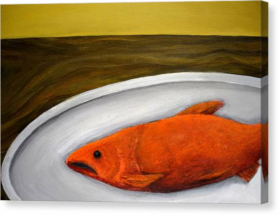 Fishy Fish Ll Canvas Print