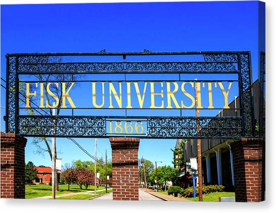 Fisk University Nashville Canvas Print