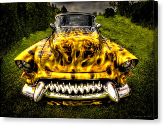 Flames One Canvas Print