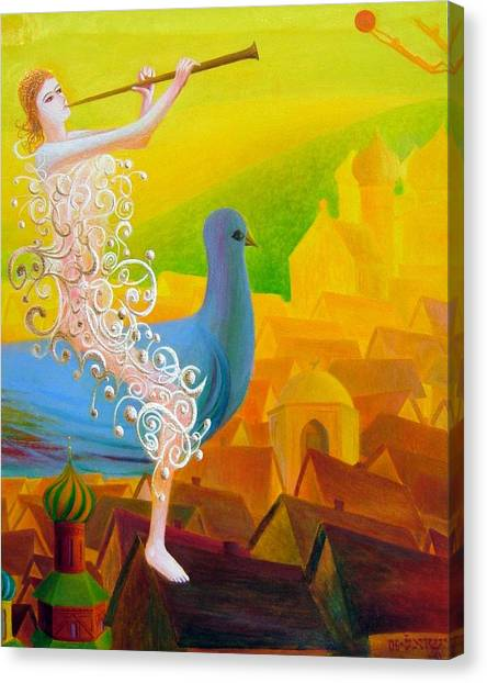 Flight Of The Soul Canvas Print