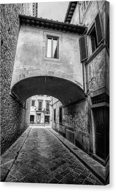 Florence Street Canvas Print