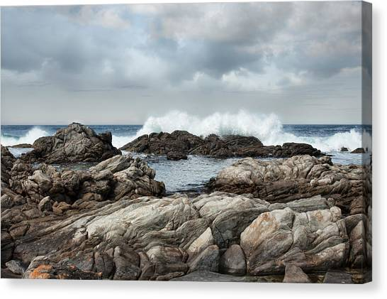 Pennington Bay Canvas Print - Flour Cask Bay Kangaroo Island by Anne Christie