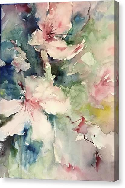Flower Series 2017 Canvas Print