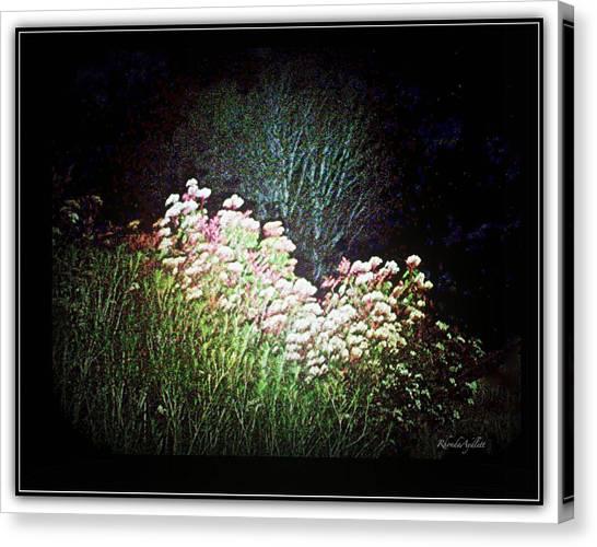 Canvas Print - Flowers At Night by YoMamaBird Rhonda