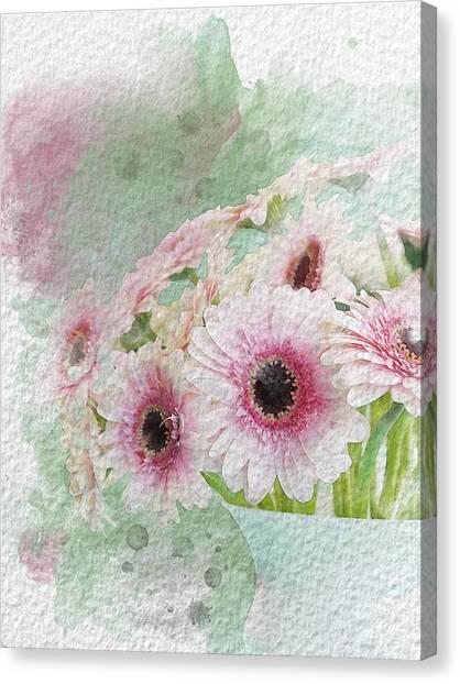 Canvas Print - Flowers by Bitten Kari
