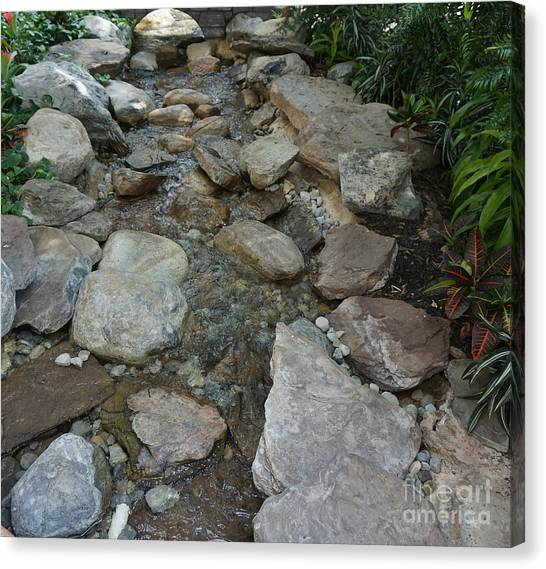 Flowing Waters Canvas Print