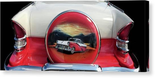 Ford Fairlane Rear Canvas Print