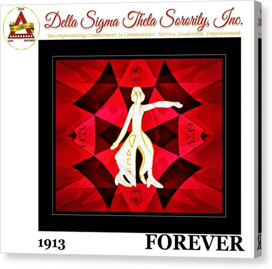 Forever Delta Canvas Print