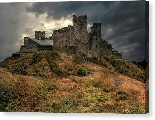 Forgotten Castle Canvas Print