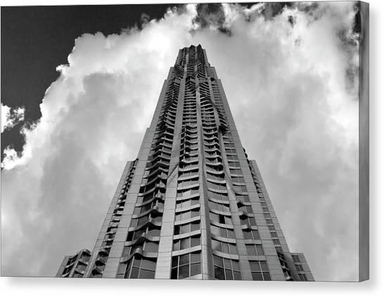 Frank Gehry High Rise Lower Manhattan Canvas Print