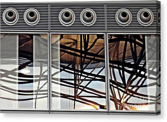 Canvas Print - Frankfurt Airport Abstract 3 by Sarah Loft