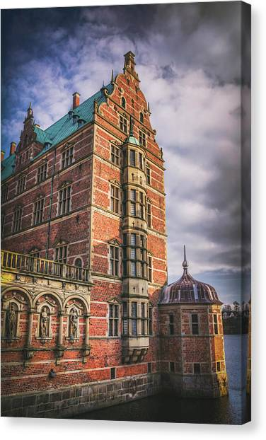 Danish Canvas Print - Frederiksborg Castle Hillerod Denmark by Carol Japp