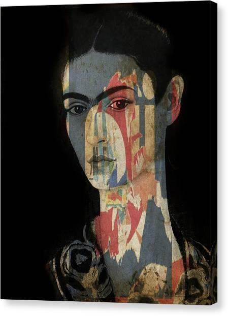 Painters Canvas Print - Frida Kahlo  by Paul Lovering