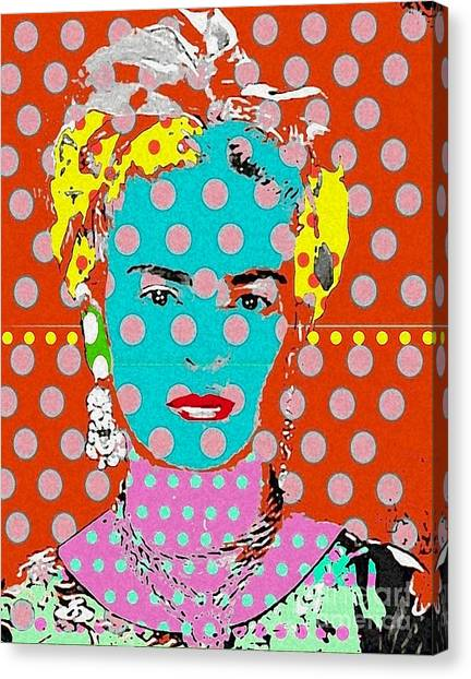Frida Canvas Print by Ricky Sencion